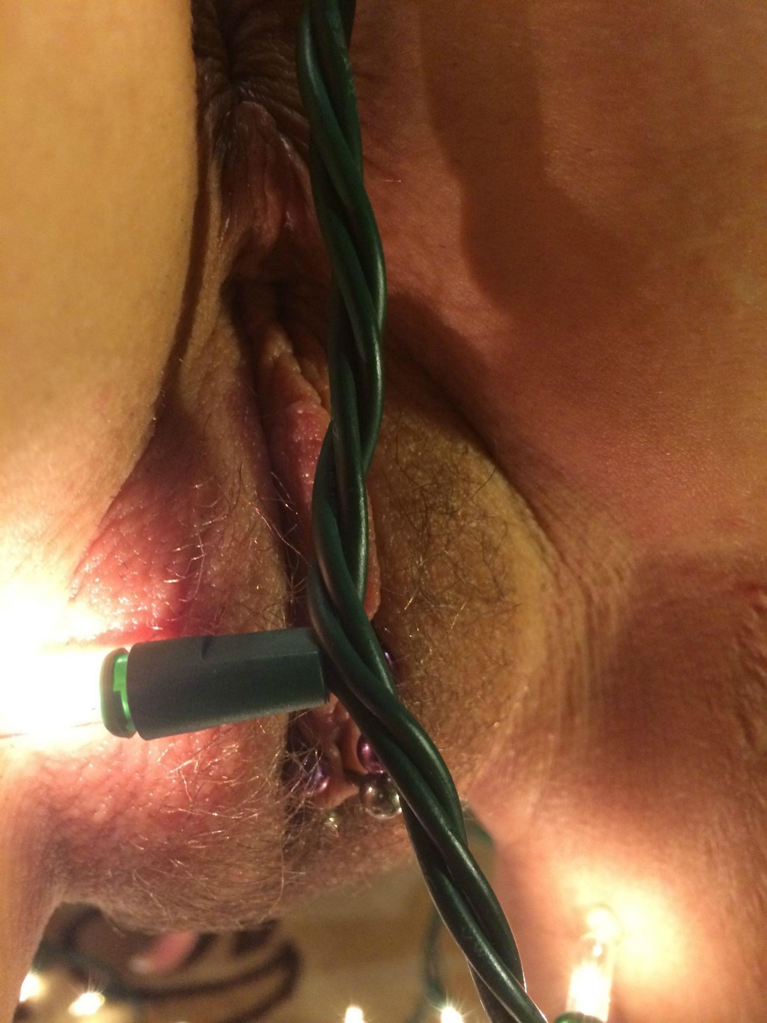 Фитоняшка демонстрирует тело в новогоднюю ночь секс фото и порно фото
