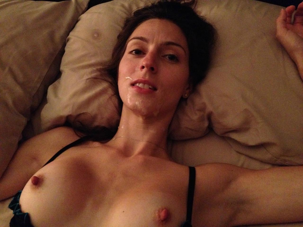 Подборка девиц с лицами в мужской сперме секс фото и порно фото